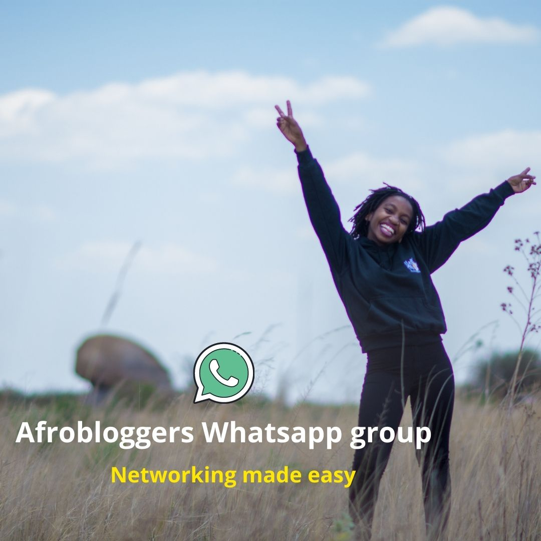 Introducing  the Afrobloggers WhatsApp Group
